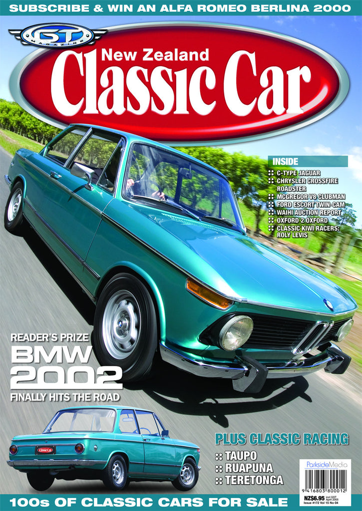 New Zealand Classic Car 172, April 2005
