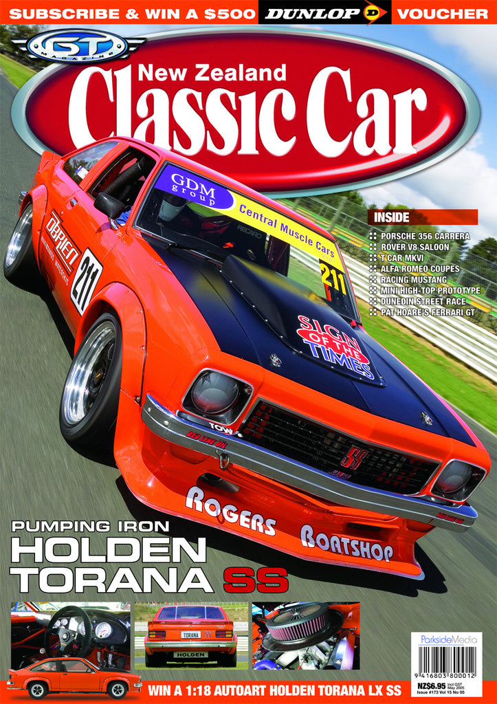 New Zealand Classic Car 173, May 2005