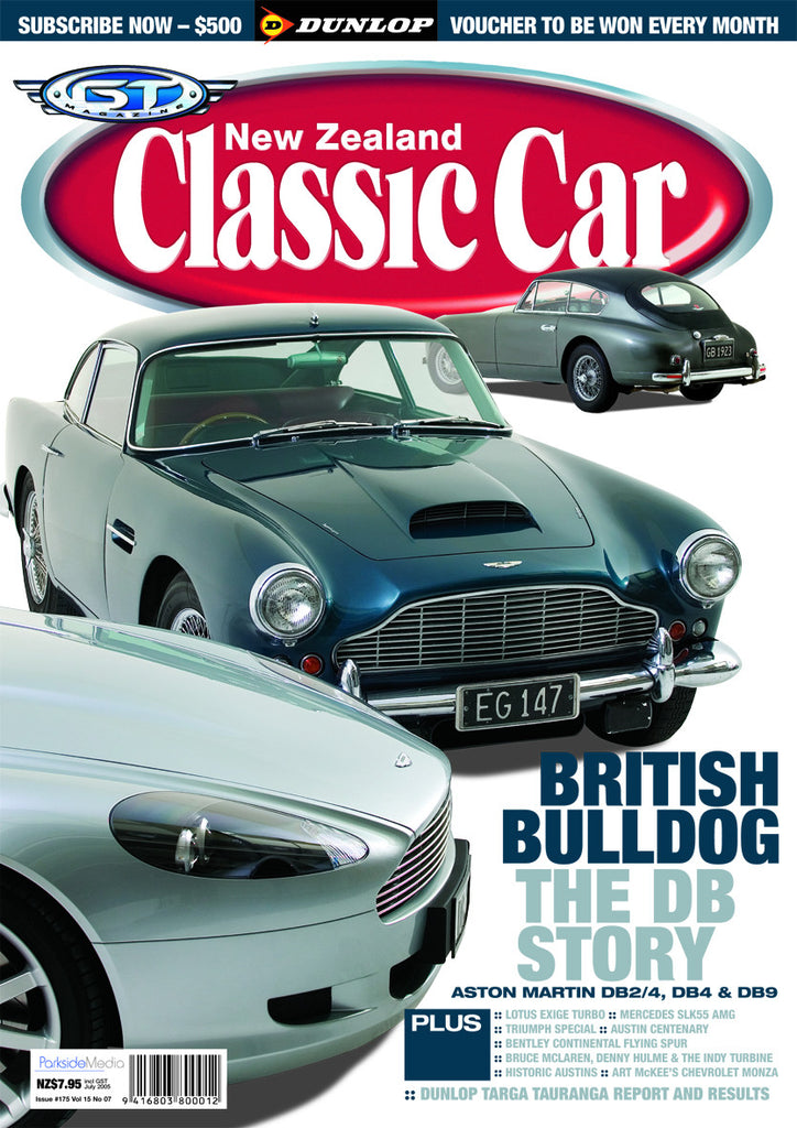 New Zealand Classic Car 175, July 2005