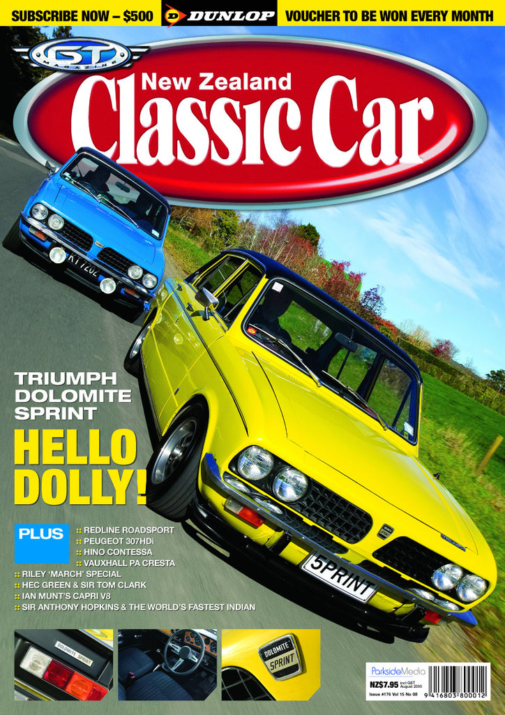 New Zealand Classic Car 176, August 2005