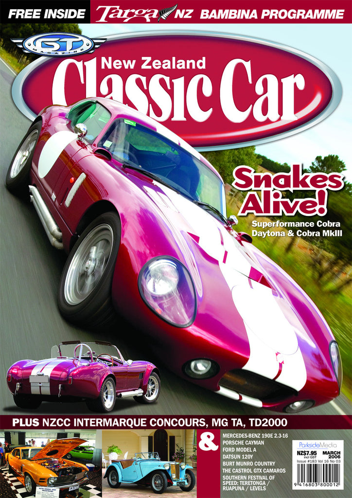 New Zealand Classic Car 183, March 2006