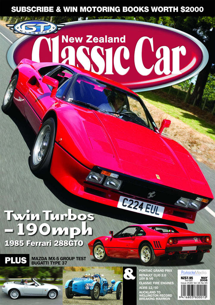 New Zealand Classic Car 185, May 2006