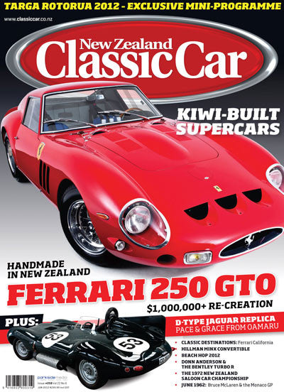New Zealand Classic Car 258, June 2012