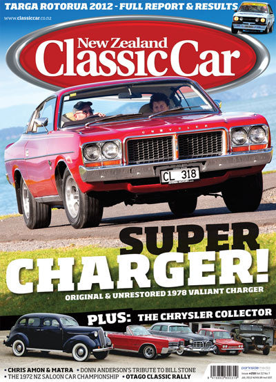 New Zealand Classic Car 259, July 2012
