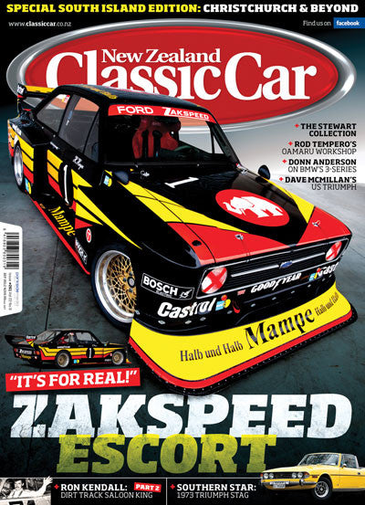 New Zealand Classic Car 261, September 2012