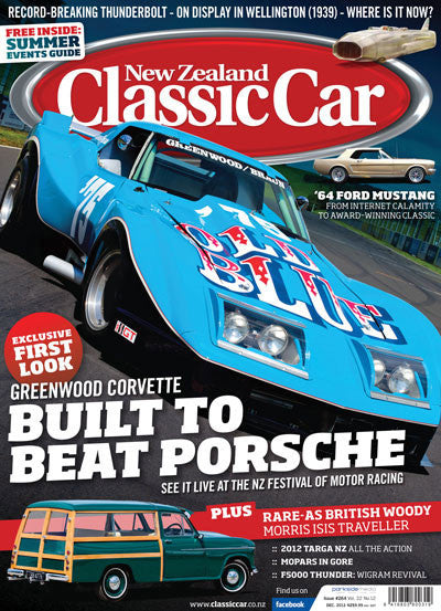 New Zealand Classic Car 264, December 2012
