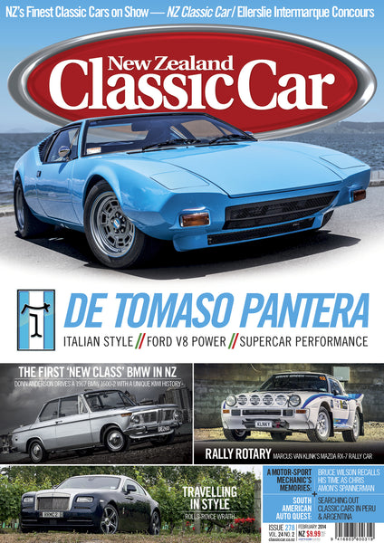 New Zealand Classic Car 278, February 2014