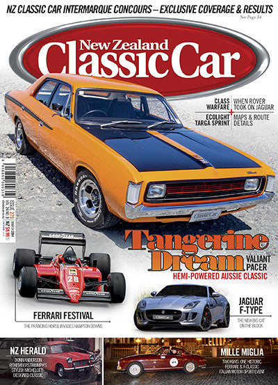 New Zealand Classic Car 279, March 2014