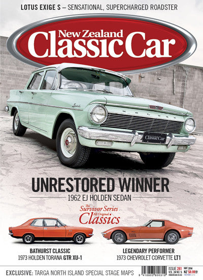 New Zealand Classic Car 281, May 2014