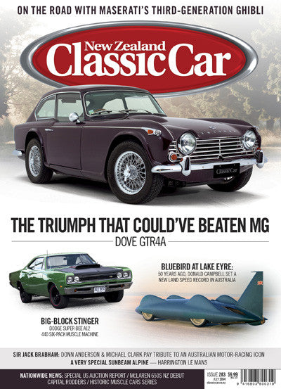 New Zealand Classic Car 283, July 2014