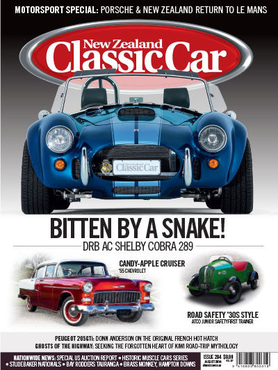 New Zealand Classic Car 284, August 2014