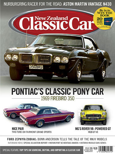 New Zealand Classic Car 285, September 2014
