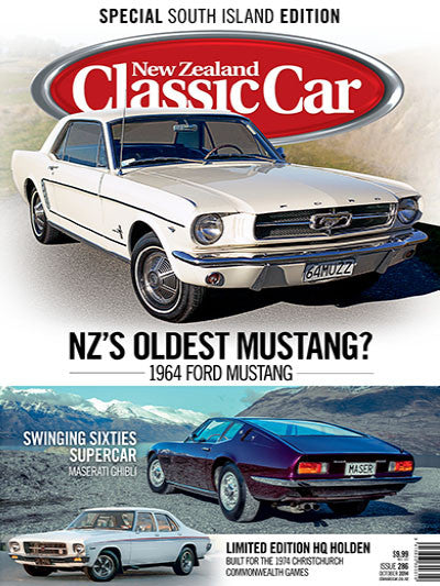 New Zealand Classic Car 286, October 2014