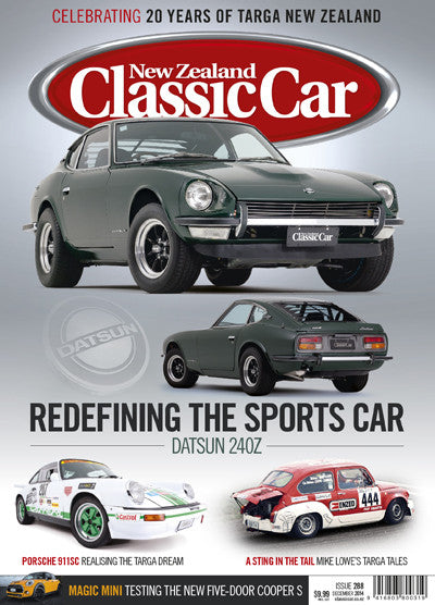 New Zealand Classic Car 288, December 2014