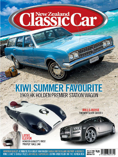 New Zealand Classic Car 289, January 2015