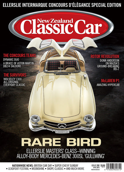 New Zealand Classic Car 292, April 2015