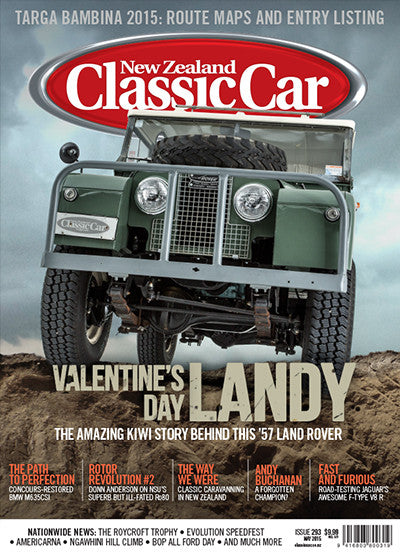 New Zealand Classic Car 293, May 2015