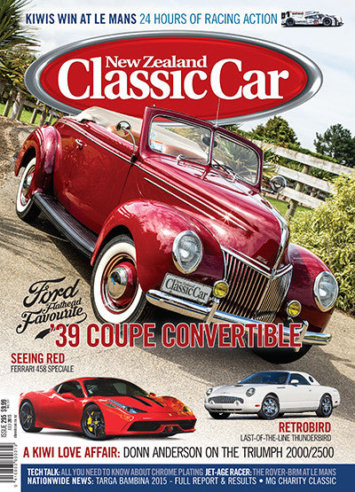 New Zealand Classic Car 295, July 2015