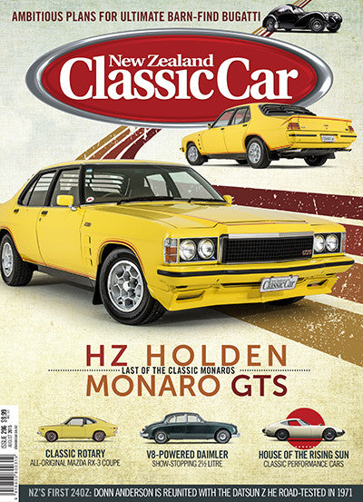 New Zealand Classic Car 296, August 2015