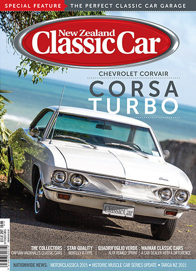 New Zealand Classic Car 297, September 2015