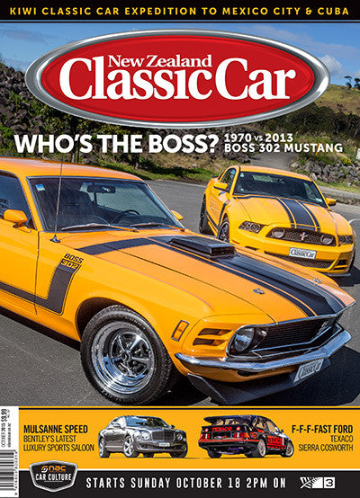 New Zealand Classic Car 298, October 2015