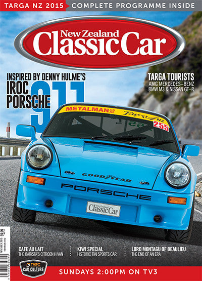 New Zealand Classic Car 299, November 2015