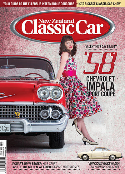 New Zealand Classic Car 302, February 2016