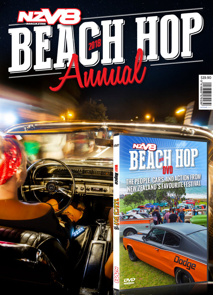 NZV8 Beach Hop Annual 2018 with free DVD