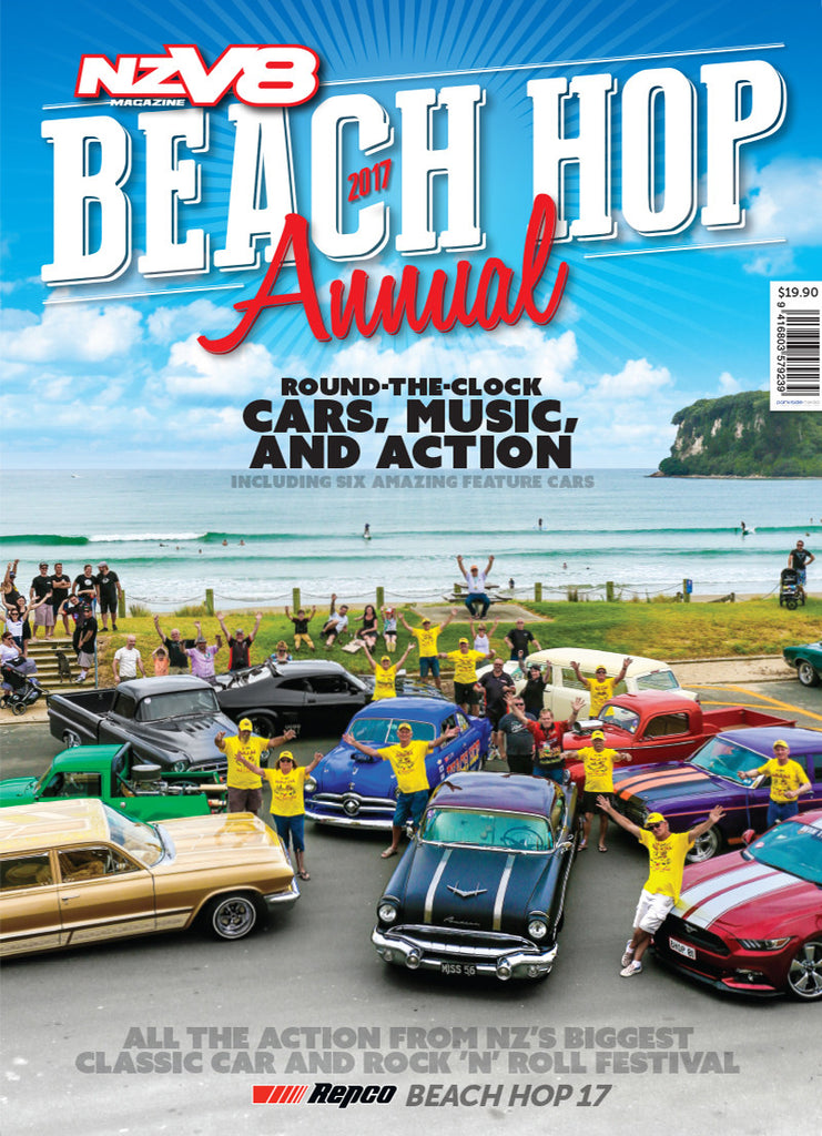 NZV8 Beach Hop 2017 Annual