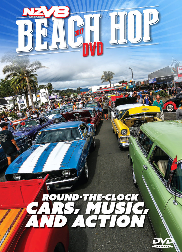 NZV8 Beach Hop 2017 Annual DVD