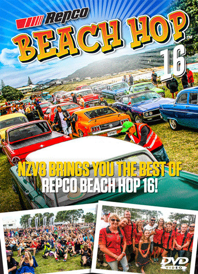 NZV8 Beach Hop 2016 Annual DVD