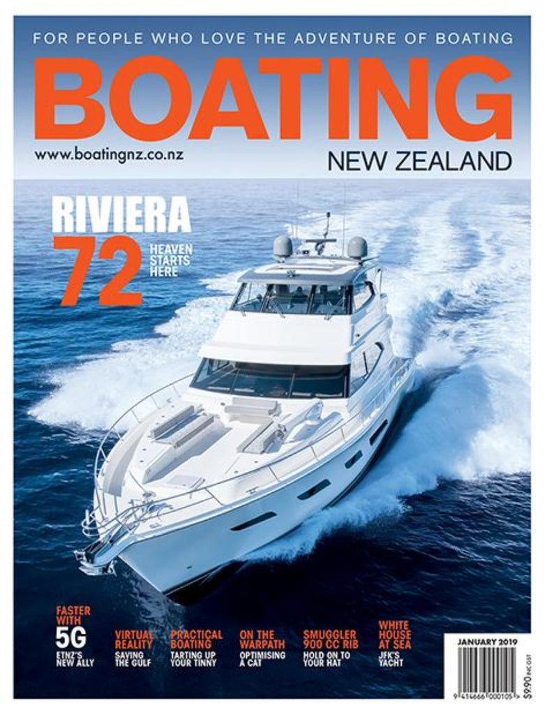 Subscription to Boating New Zealand magazine - Yachting New Zealand