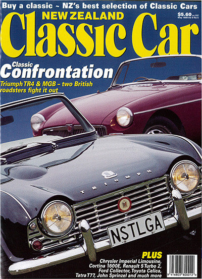 New Zealand Classic Car 101, May 1999