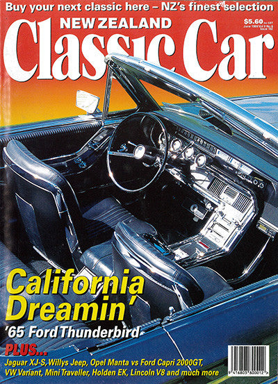 New Zealand Classic Car 102, June 1999