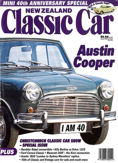 New Zealand Classic Car 104, August 1999