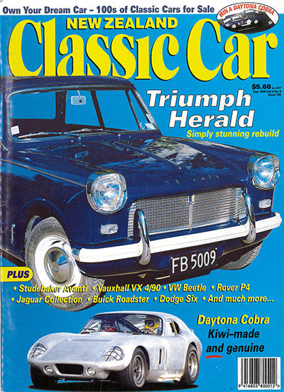 New Zealand Classic Car 105, September 1999