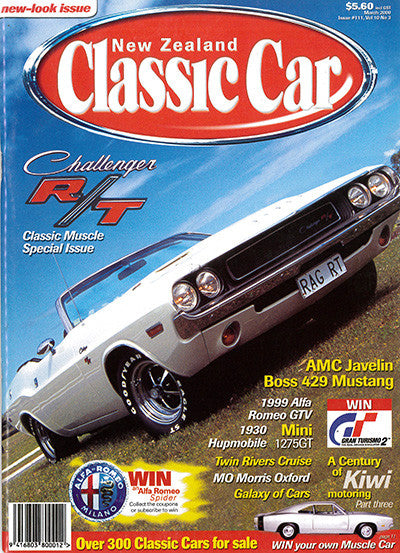 New Zealand Classic Car 111, March 2000