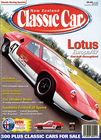 New Zealand Classic Car 112, April 2000