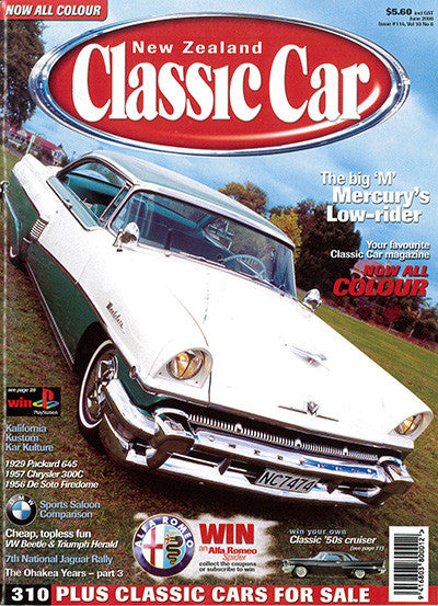 New Zealand Classic Car 114, June 2000