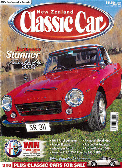 New Zealand Classic Car 116, August 2000