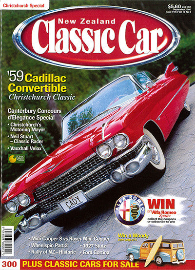 New Zealand Classic Car 117, September 2000