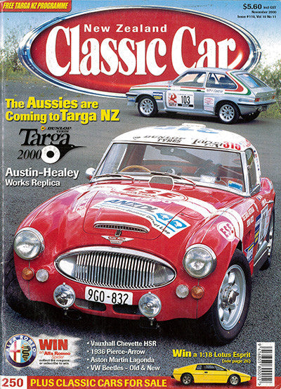 New Zealand Classic Car 119, November 2000