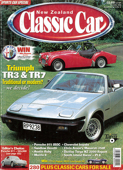 New Zealand Classic Car 120, December 2000