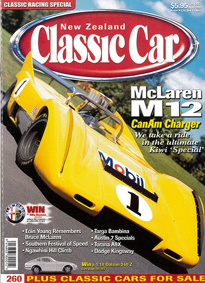 New Zealand Classic Car 124, April 2001