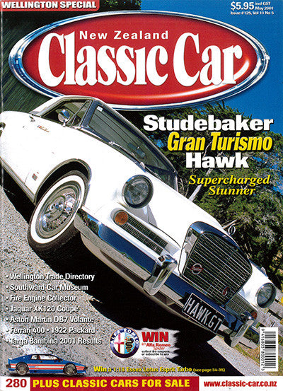 New Zealand Classic Car 125, May 2001