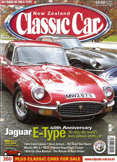 New Zealand Classic Car 127, July 2001