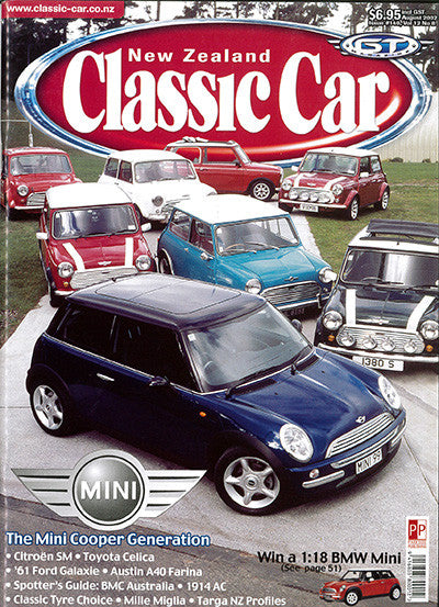 New Zealand Classic Car 140, August 2002