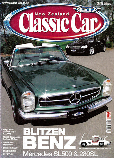 New Zealand Classic Car 146, February 2003