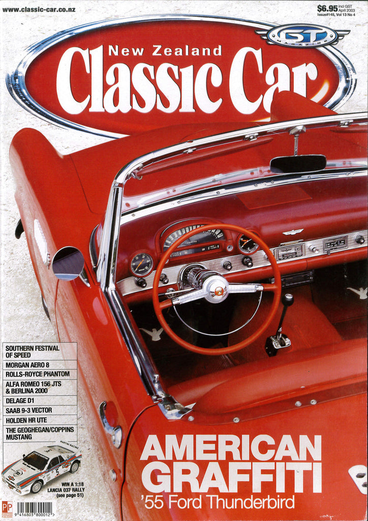 New Zealand Classic Car 148, April 2003