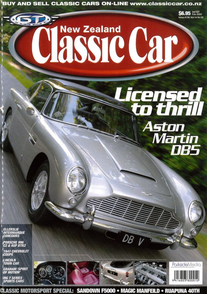New Zealand Classic Car 158, February 2004